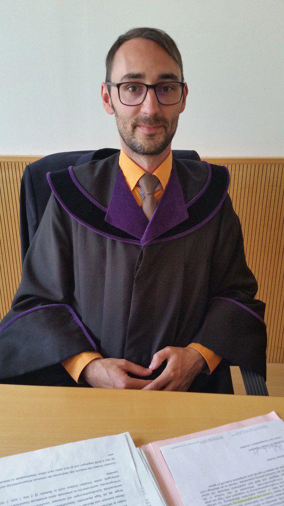 Richter Andreas Böhler errechnete Haftentschädigung.dünser