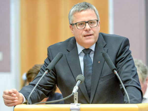 Roland Frühstück. NEUE/Lerch