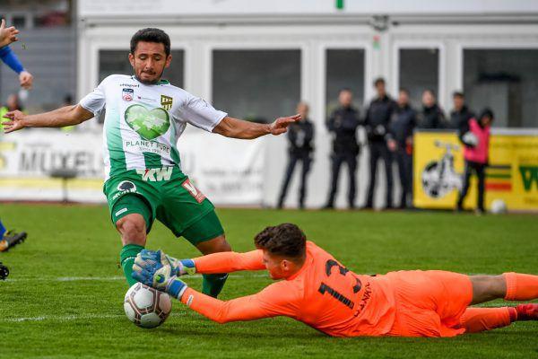 Stürmer Ronivaldo traf zum 2:0.