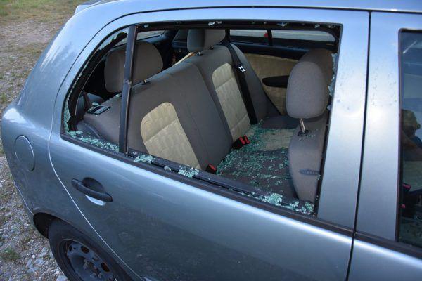 Unbekannte demolierten insgesamt 32 Fahrzeuge.Polizei St. Gallen