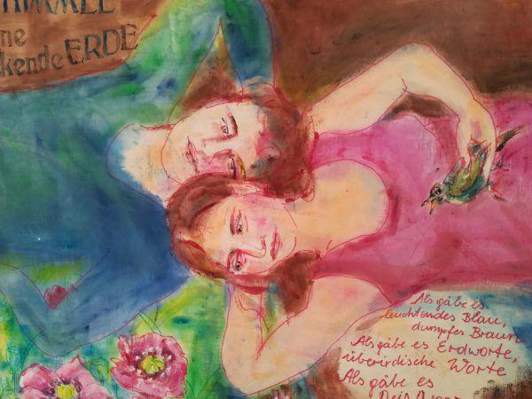 Werk von Jeannette Frei, zu sehen in der Galerie Arthouse.Wolfgang ölz