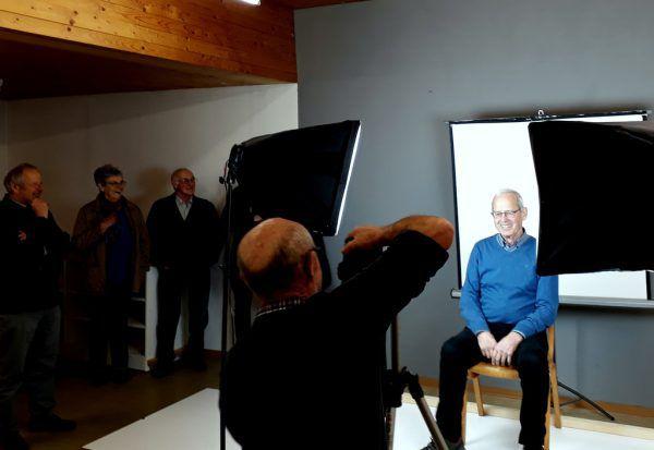Zahlreiche Bürgerinnen und Bürger haben sich schon porträtieren lassen.Gemeinde Doren