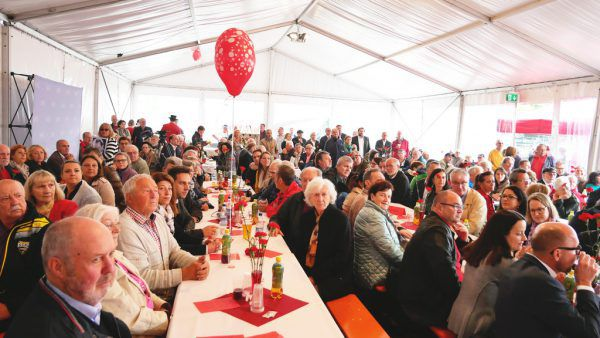 Die SPÖ Vorarlberg feiert den 1. Mai jedes Jahr bei einem Fest im Bregenzer Hafen.SPÖ, Hartinger