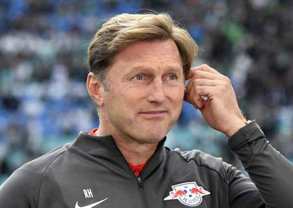 Zwei Mal erreichte Ralph Hasenhüttl mit RB Leipzig das internationale Geschäft. AP