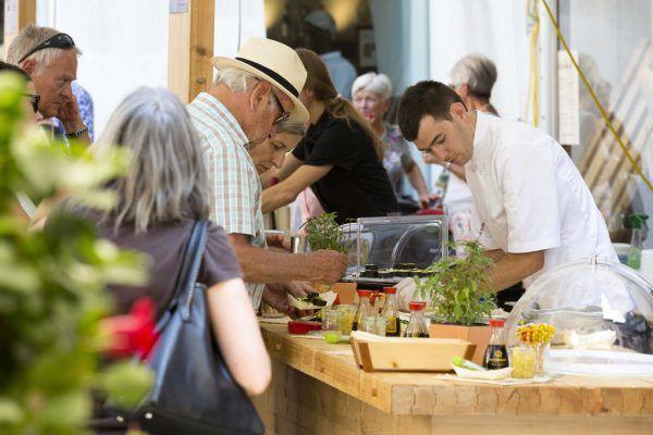 Das Street Food Festival in der Bludenzer Altstadt aufgrund der großen Vorjahrserfolge noch umfangreicher.Veranstalter/Diemtar Mathis
