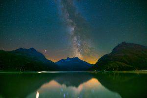 Sommerlicher Sternenhimmel