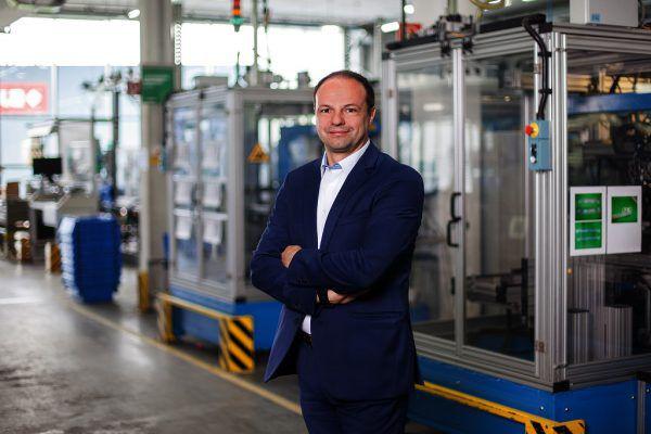 Albert Trebo ist seit September 2018 Grass-Geschäftsführer für Vertrieb und Marketing.Grass GmbH