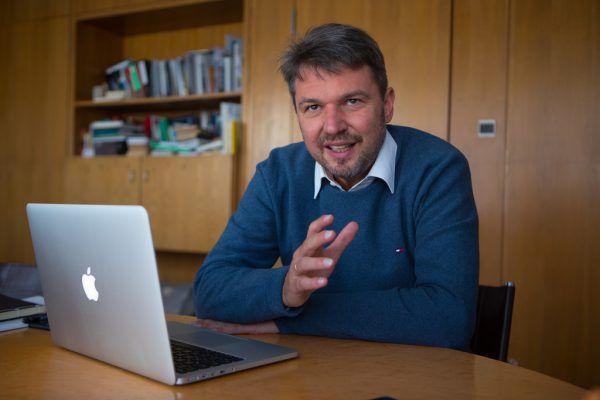 Lustenaus Bürgermeister Kurt Fischer. Hartinger