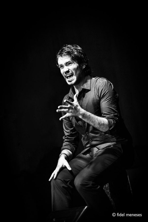 Der Flamenco-Künstler Juan Cárdenas. Fidel Meneses
