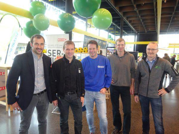 Die Initiatoren Jodok Felder, Peter Willi, Siegfried Steurer, Roland Büchele und Joachim Flatz (v.l.). Privat (6)
