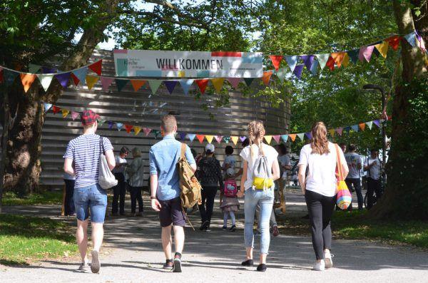 15.000 Besucher waren im Mai beim Fest am See in Bregenz.Katholische kirche vorarlberg