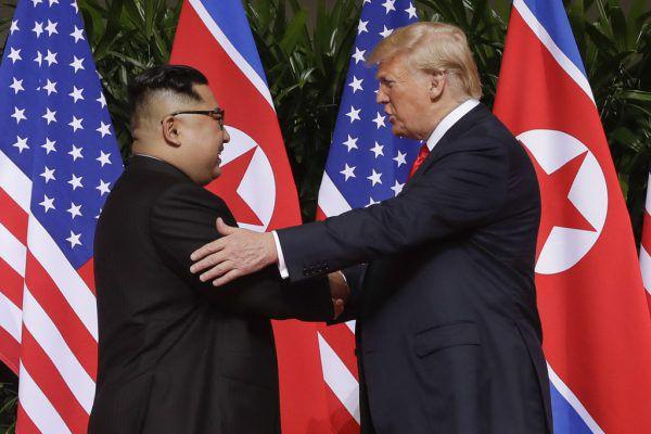 Das Eis zwischen den Machthabern scheint gebrochen. AP