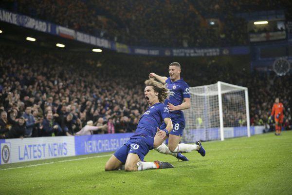 David Luiz machte den Deckel drauf. AP