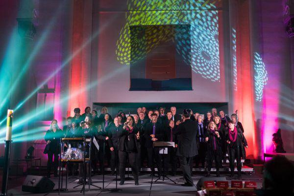 Der Gospel-Chor. Gospel Family