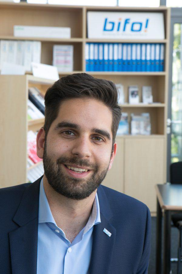 bifo-Geschäftsführer Andreas Pichler.