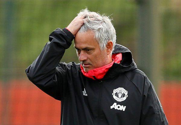 Haare raufen für Mourinho.Reuters