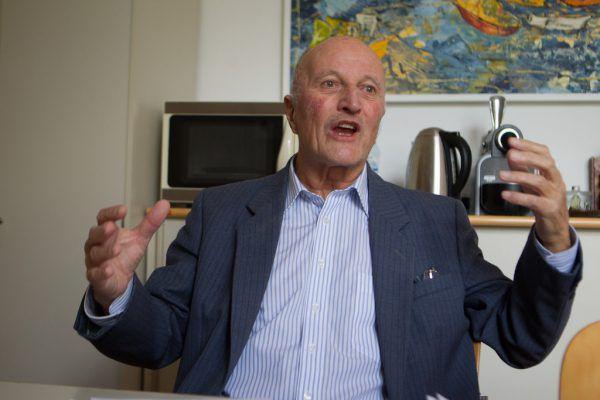 Hat zehn Jahre lang in Russland unterrichtet: der Feldkircher Historiker Gerhard Wanner. Hartinger, Koeck