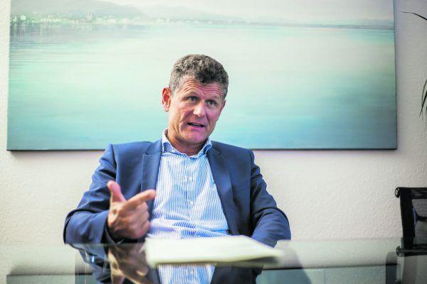 Horst Lumper ist zufrieden. Die Eliteliga ist für vorerst zwei Jahre gesichert.Steurer