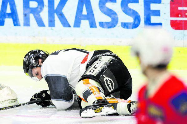 In dieser Szene verletzte sich Broda in Klagenfurt an der Schulter.  GEPA