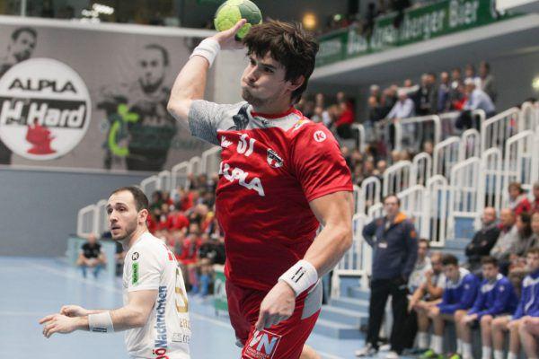 Ivan Horvat hat seine Bänderverletzung überstanden und erzielte gegen Linz sieben Treffer.Klaus Hartinger