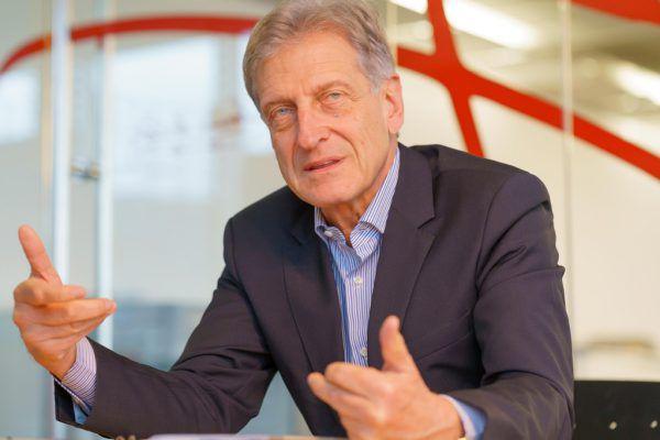 Josef Cap nahm im Interview kein Blatt vor den Mund und kritisierte den Bundeskanzler scharf.Stiplovsek (5)