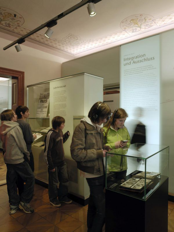 Kinder im Museum.Jüdisches Museum/Gisinger