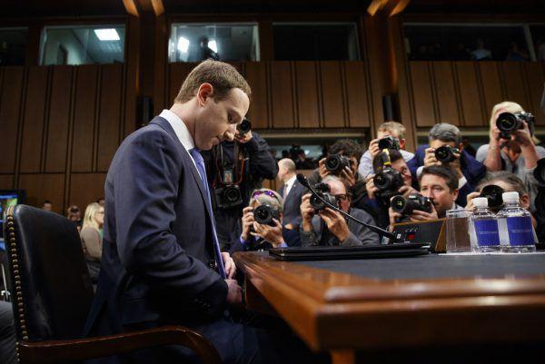 Mark Zuckerberg musste sich im April in Washington verantworten. AP Photo