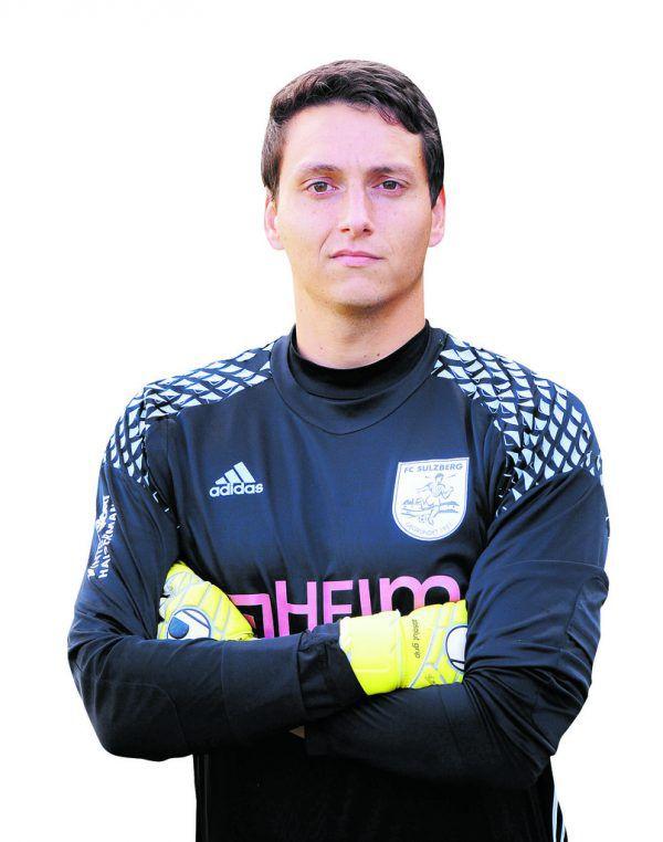 Monatssieger Michael Feurle vom FC Sulzberg. VErein