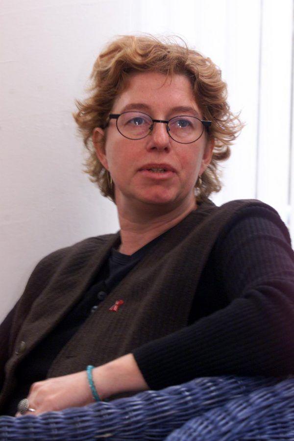 Renate Fleisch Ende der 1990er-Jahre als Leiterin des Frauengetriebe. Klaus Hartinger(3)