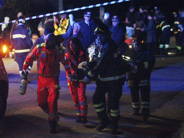 Sechs Tote und Dutzende Verletzte waren die Folgen der Massenpanik. AP