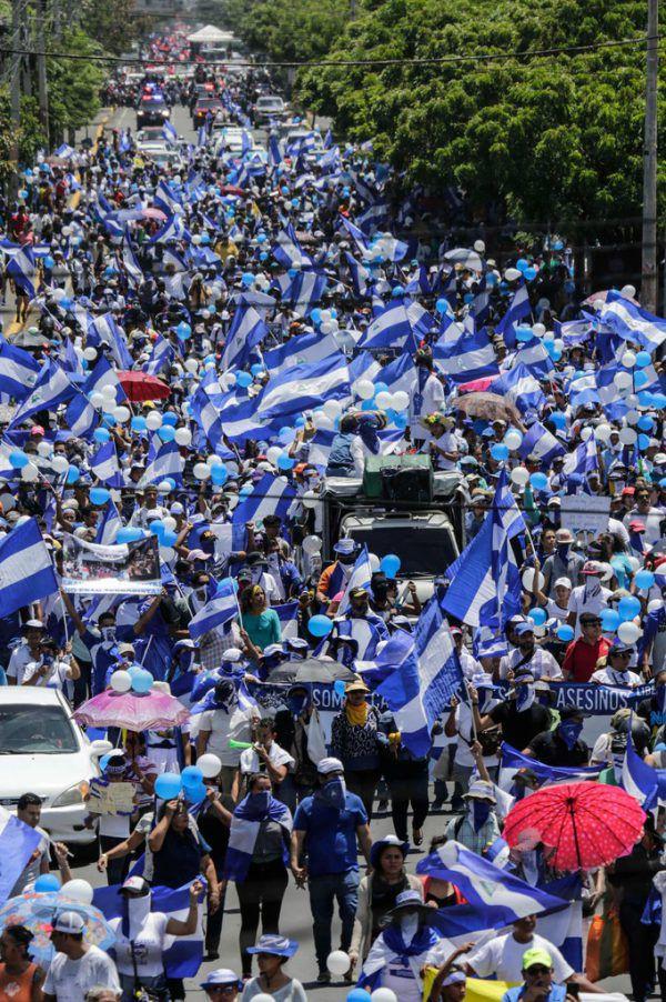 Seit Monaten dauern die Proteste in Nicaragua an. AFP