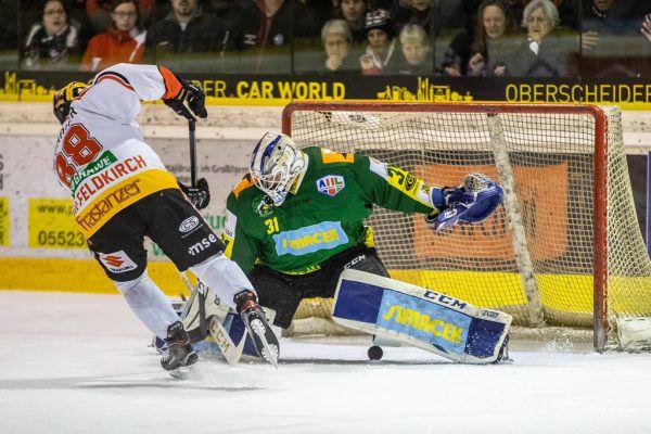 Stefan Wiedmaier erzielte bereits in der 9. Minute das 2:0 für die VEU.Sams