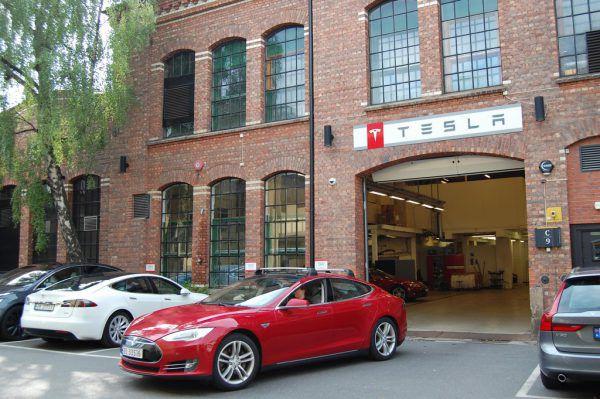 Teslas sind in Norwegen ein Verkaufsschlager.AFP
