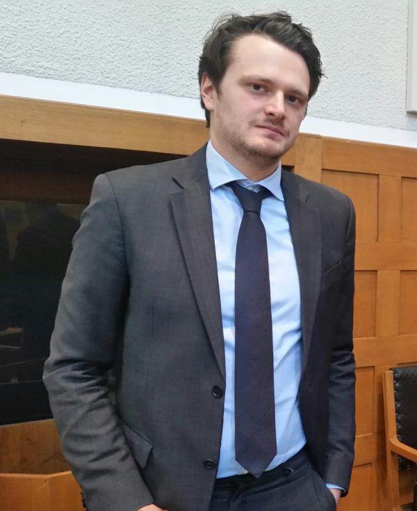 Verteidiger Clemens Haller.Seff Dünser