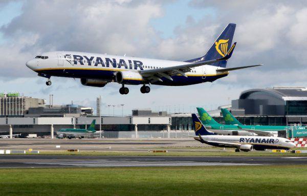 Bei Ryanair rechnet man mit einem harten Brexit. AFP