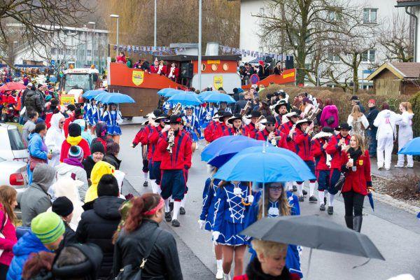 Bereits zum fünften Mal geht der Landesnarrentag in Hohenems über die Bühne. Zuletzt waren Vorarlbergs Mäschgerle 2015 zu Gast (Foto).