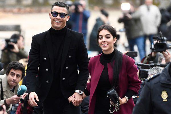 Cristiano Ronaldo mit seiner Freundin Georgina Rodríguez.APA