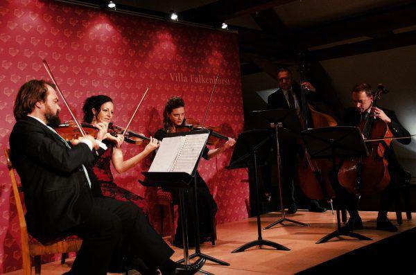Das Konzert in der Villa Falkenhorst.Andreas feuerstein