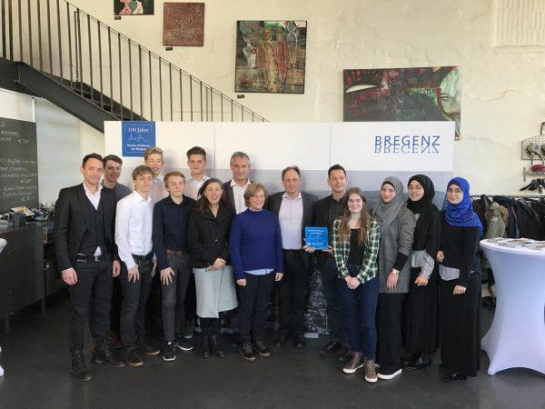 Das Organisationsteam bei der gestrigen Präsentation.Stadt Bregenz