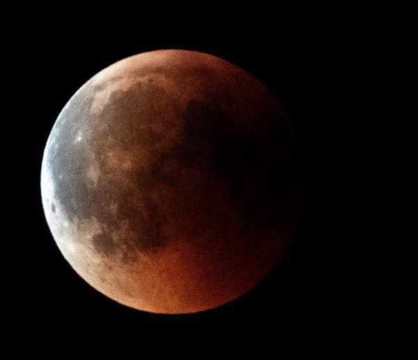 Die letzte totale Mondfinsternis in Mitteleuropa war am 27. Juli 2018. Apa