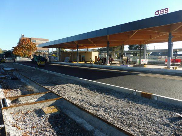 Der Umbau in Lustenau wird im Frühjahr abgeschlossen. öBB