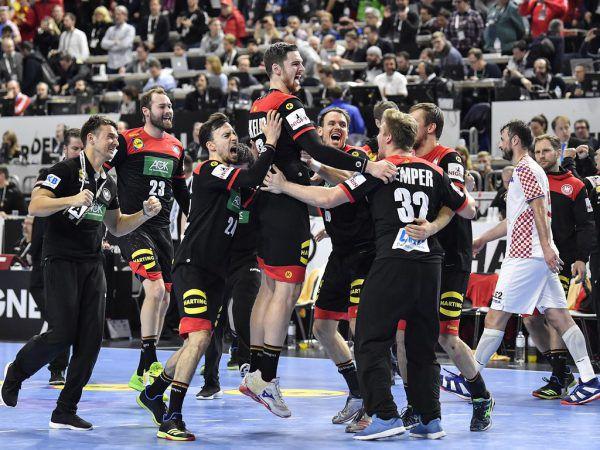 Deutschland jubelt über den Einzug ins Halbfinale. AP