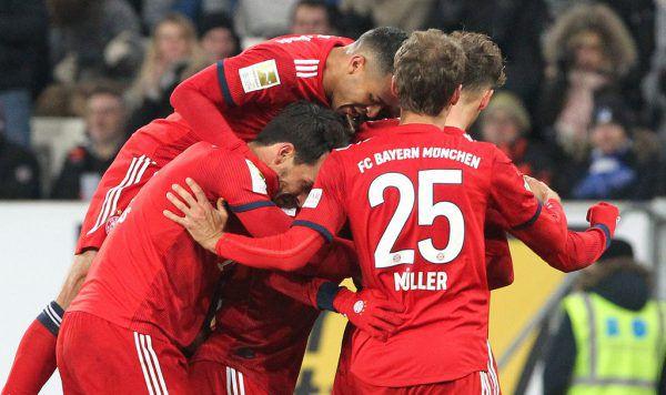 Die Bayern konnten gestern jubeln.AFP