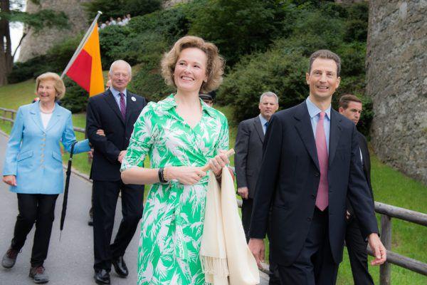 Die Regierungsgeschäfte führt seit 2004 Erbprinz Alois. Seine Frau ist Sophie, Herzogin von Bayern.Liechtenstein Marketing (Maier/Beham)