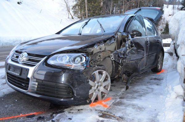 Drei Personen wurden verletzt. Kapo Appenzell Ausserrhoden