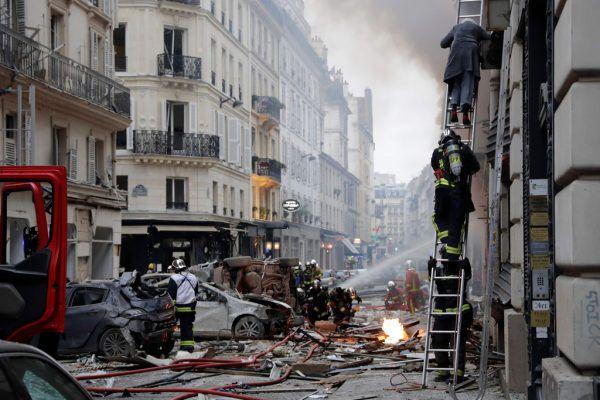 Drei Tote und 50 Verletzte lautet die bisherige Bilanz.AFP
