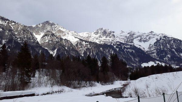 Ein unversperrter Blick auf die Klostertaler Bergwelt.Hertha Glück(2)