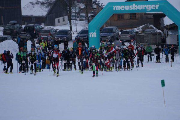 Etwa 90 Sportler gingen beim Jubiläum an den Start. privat