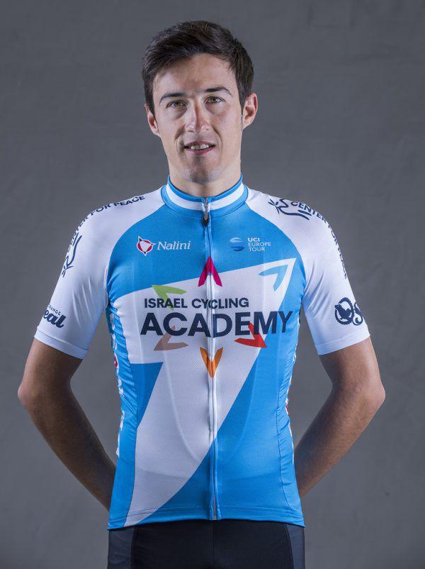 Gallego noch im Trikot der Israel Cycling Academy.TV