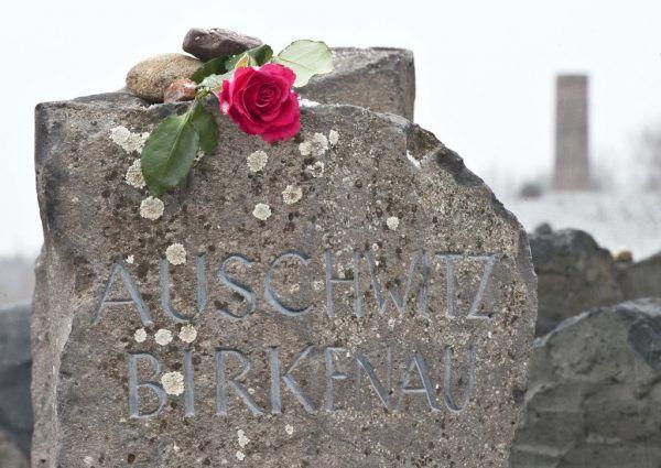Gedenken an die Opfer (l.) – der Historiker Werner Bundschuh.AP, Roland Paulitsch